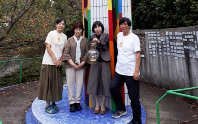 [Nagasaki:JPN] The Nagasaki Flame of Commitment has been lit!