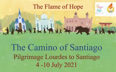 Pilgrimage Lourdes to Santiago 2021